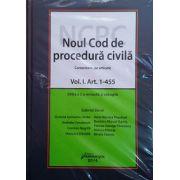Noul Cod de procedura civila - comentariu pe articole. Editia a 2-a revizuita si adaugita 2 volume