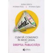 Cum sa comunici in mod legal sau dreptul publicitatii