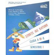 Manual Stiinte ale naturii - Clasa a III-a - Semestrul I - Editia 2016