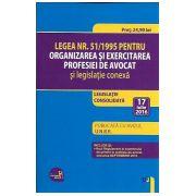 Legea Nr. 51/1995 pentru OEPA si Legislatie Conexa (2016) Legislatie Consolidata - Editie actualizata 17 Iulie 2016