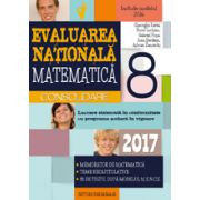EVALUAREA NATIONALA 2017 MATEMATICA - CONSOLIDARE - NOTIUNI TEORETICE SI 85 DE TESTE DUPA MODELUL M. E. N. C. S. CLASA A VIII-A