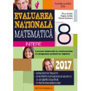 EVALUAREA NATIONALA 2017 MATEMATICA - INITIERE - NOTIUNI TEORETICE SI 50 DE TESTE DUPA MODELUL M. E. N. C. S. CLASA A VIII-A