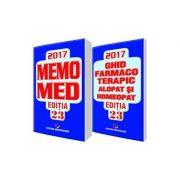 MEMOMED 2017 - Ghid farmacoterapic alopat si homeopat - Editia 23 - 2 VOLUME