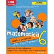 Matematica 2017 - 2018 Consolidare - Algebra, Geometrie - Clasa A VI-A - Caiet de lucru - Semestrul I