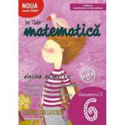 Matematica 2017 - 2018 - Initiere - Algebra, Geometrie - Clasa A VI-A - Caiet de lucru - Semestrul II
