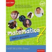 Matematica 2018 - 2019 Consolidare - Algebra, Geometrie - Clasa A VII-A - Caiet de lucru - Semestrul I