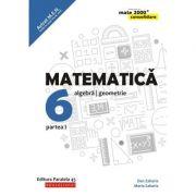 Matematica 2018 - 2019 Consolidare - Algebra, Geometrie - Clasa A VI-A - Semestrul I - Avizat M. E. N.
