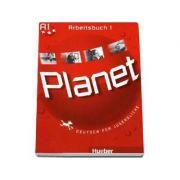 Planet 1, caiet de germana pentru clasa a 5-a, Arbeitsbuch (A1) - Deutsch fur Jugendliche - Hueber