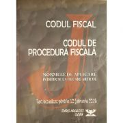 Codul Fiscal 2019 - Codul de Procedura Fiscala - Normele de Aplicare - Actualizat 10 februarie 2019 - Juris Argessis
