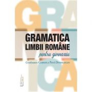 Gramatica limbii romane pentru gimnaziu - Academia Romana
