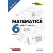 Matematica 2019 - 2020 Consolidare - Aritmetica, Algebra, Geometrie - Clasa A VI-A - Semestrul I - Avizat M. E. N.