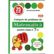 PUISOR 2020 - Culegere de probleme de matematica pentru clasa a VII-a - Conform cu programa 2019- 2020 ( Editia a 25- a) Acceptat CNEE 2018
