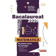 Bacalaureat 2020 Matematică M_ştiinţele-naturii, M_tehnologic