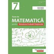 Teste de matematică pentru Simularea Evaluării Naţionale la clasa a VII-a