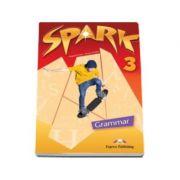 Curs pentru limba engleza (Level B1). Spark 3 Grammar Book, pentru clasa a VII-a