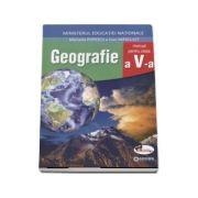 Geografie manual pentru clasa a V-a - Manuela Popescu (Contine CD cu editia digitala) - Popescu, Manuela