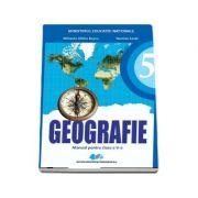 Geografie manual pentru clasa a V-a - Mihaela Rascu, Nicolae Lazar (Contine editie digitala) - Rascu, Mihaela