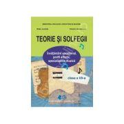 Teorie si solfegii clasa a VII-a - Gabrielescu, Valentin