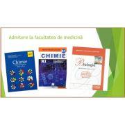Set Admitere - Chimie manual pentru clasa a X-a- Luminita Vladescu, BIOLOGIE Cristescu - Manual pentru clasa a XI-a, Chimie C1 clasa a XI-a