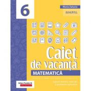 Matematică 2020 - Caiet de vacanță - Suport teoretic, exerciții și probleme aplicative - Clasa a VI