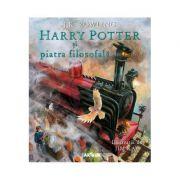 Harry Potter și piatra filosofală (ed. ilustrată)