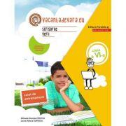 Scrisorile verii 2020 - Caiet de antrenament pentru limba și literatura română - Clasa a VI-a - @vacantadevara. eu.