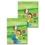 Comunicare in limba moderna 1, Limba Franceza, Clasa a II-a, Set (2 volume - Partea I + Partea a II-a)