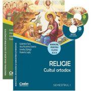 Manual de religie clasa a II-a volumul I+II + CD