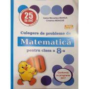 PUISOR 2020 - Culegere de probleme de matematica pentru clasa a VIII-a - Aprobat M. E. N. 2019 - Editia 25