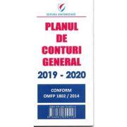 Planul de Conturi General 2019-2020 - Conform OMFP 1802/2014