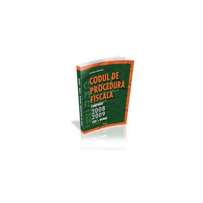 Codul de Procedura Fiscala 2008-2009 (lege+norme)