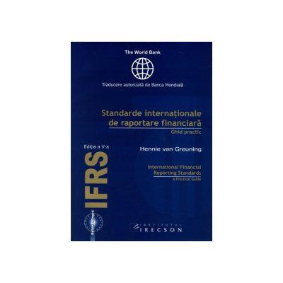 Standarde internaționale de raportare financiară (IFRS), ediţia a V-a