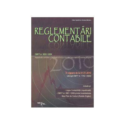 Reglementari Contabile 2010  (OMFP 3055/2009 - in vigoare de la 01.01.2010)