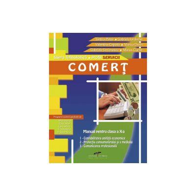 Comert - clasa a X-a (filiera tehnologica profil Servicii)
