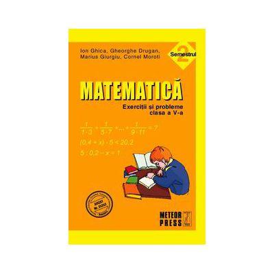 Matematica. Exercitii si probleme. Clasa a V-a, semestrul II 2010-2011