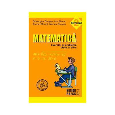 Matematica. Exercitii si probleme. Clasa a VII-a, semestrul II 2010-2011