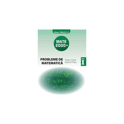 PROBLEME DE MATEMATICA PENTRU CLASA A 10-A ( MATE 2000)