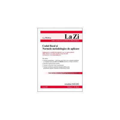 Codul fiscal si Normele metodologice actualizat la 10.03.2011