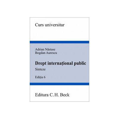 Drept international public. Sinteze Editia 6