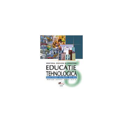 Educatie tehnologica. Manual clasa a V-a