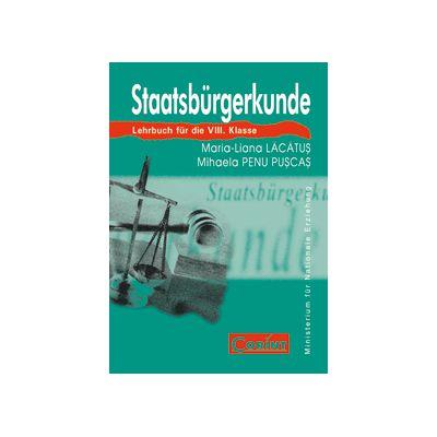 CULTURA CIVICA limba  germana - clasa a VIII-a