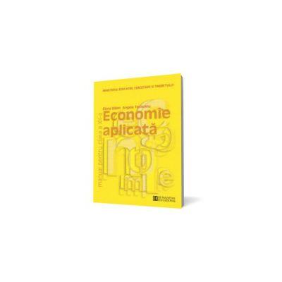 Economie aplicată. Manual pentru clasa a XII-a