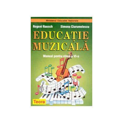 Educatie muzicala, manual pentru clasa a VI-a