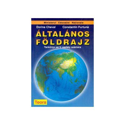 Geografie, manual pentru clasa a V-a - limba maghiara