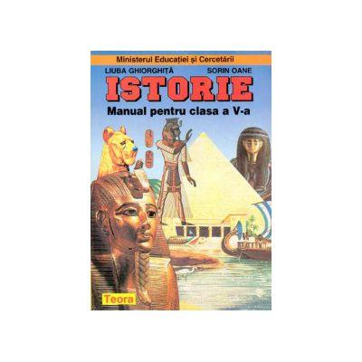Istorie, manual pentru clasa a V-a