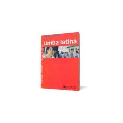 Limba latină. Manual pentru clasa a IX-a