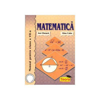 Matematica, manual pentru clasa a VII-a