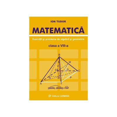 Matematica. Exercitii si probleme de algebra si geometrie. Clasa a VIII-a