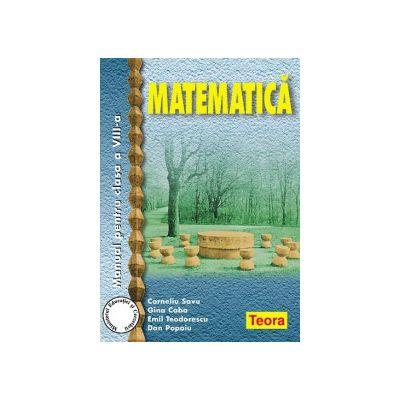 Matematica - Manual pentru clasa a VIII-a