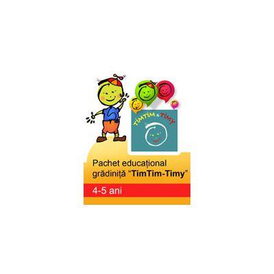 PACHET EDUCATIONAL GRADINITA TIMTIM-TIMY, 4-5 ANI